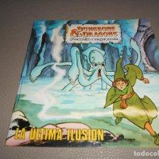 Cómics: COMIC LA ULTIMA ILUSION DUNGEONS & DRAGONS DRAGONES Y MAZMORRA TIMUN MAS 1985 TSR. Lote 217598662