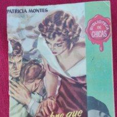 Cómics: EL HOMBRE QUE AMO DEMASIADO PATRICIA MONTES BIBLIOTECA DE CHICAS. Lote 81058584