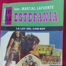 Cómics: LA LEY DEL COWBOY MARCIAL LAFUENTE ESTEFANÍA. Lote 81059787