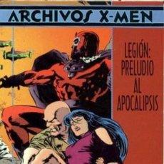 Cómics: ARCHIVOS X-MEN LEGIÓN: PRELUDIO AL APOCALIPSIS. Lote 81743396