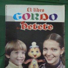 Cómics: LOTE DE 37 REVISTAS DE EL LIBRO GORDO DE PETETE. Lote 82000396