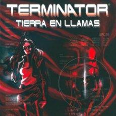 Cómics: COMIC TERMINATOR TIERRA EN LLAMAS TOMO, ALEIX ROSS TOMO UNICO NUEVO. Lote 82678816