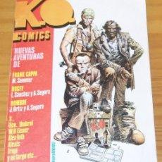 Cómics: KO COMICS 1, FRANK CAPPA, WILL EISNER, ALEX TOTH, JOSE ORTIZ, HOMBRE, LUIS SANCHEZ.... Lote 83001520