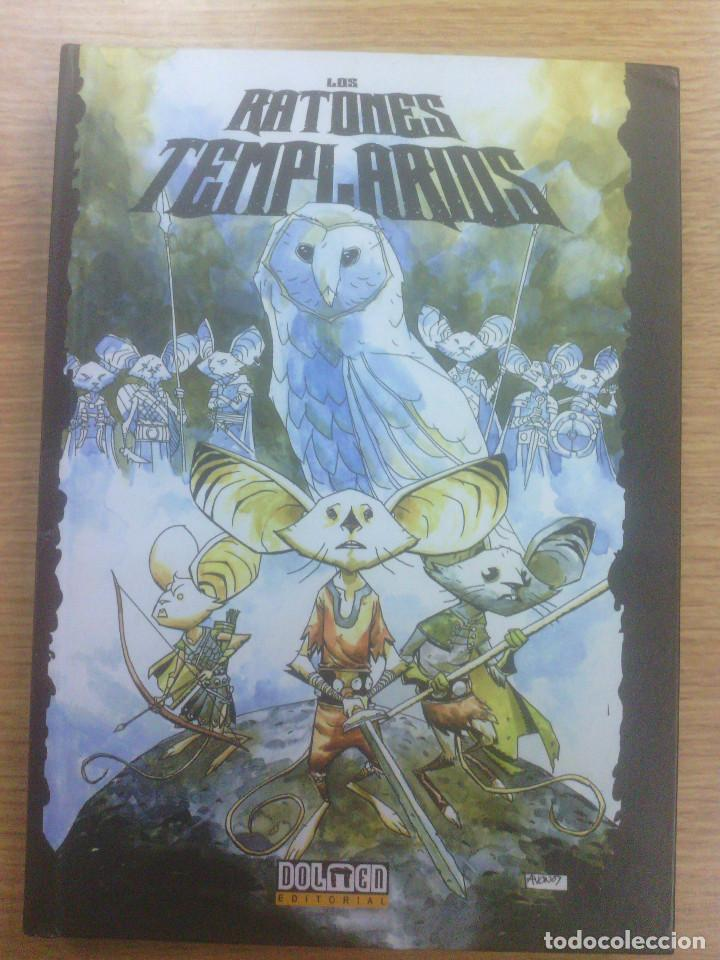 RATONES TEMPLARIOS #1 LA PROFECIA (DOLMEN) (Tebeos y Comics - Comics otras Editoriales Actuales)