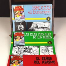 Cómics: BRICK BRADFORD. FACSÍMIL. 3 EJEMPLARES(VER DESCRIP). VV. AA. IMP. POUTUCA. 1980/1981.. Lote 83296360