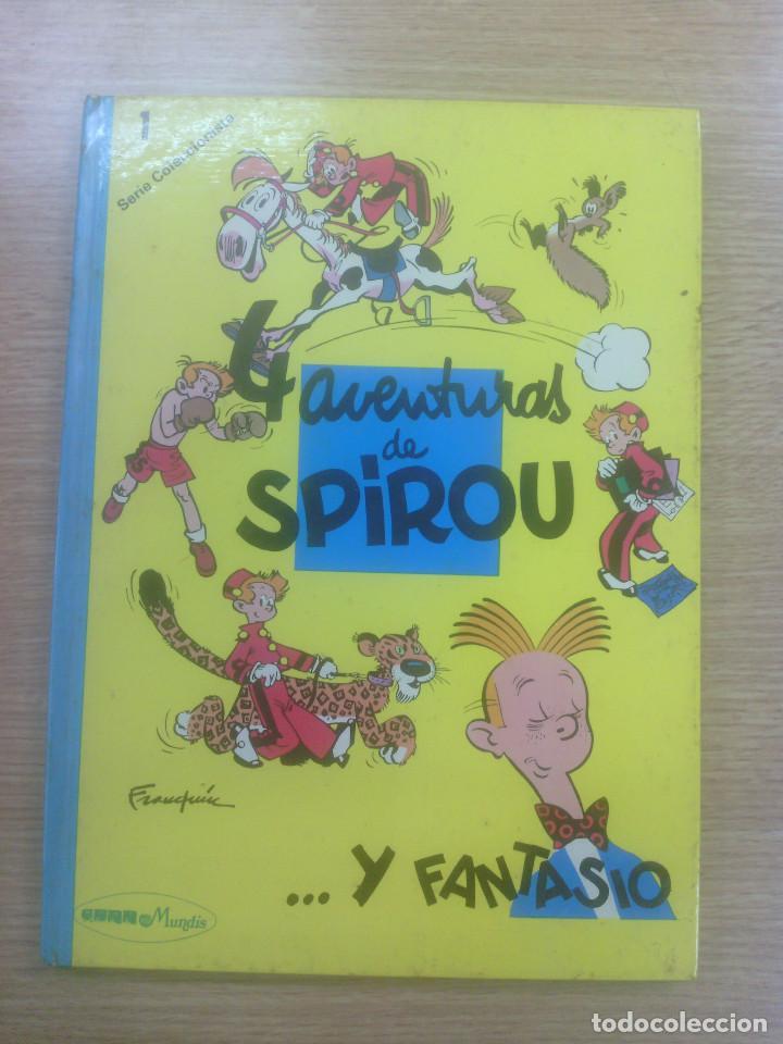 4 AVENTURAS DE SPIROU Y FANTASIO SERIE COLECCIONISTA #1 (EDITORA MUNDIS) (Tebeos y Comics Pendientes de Clasificar)