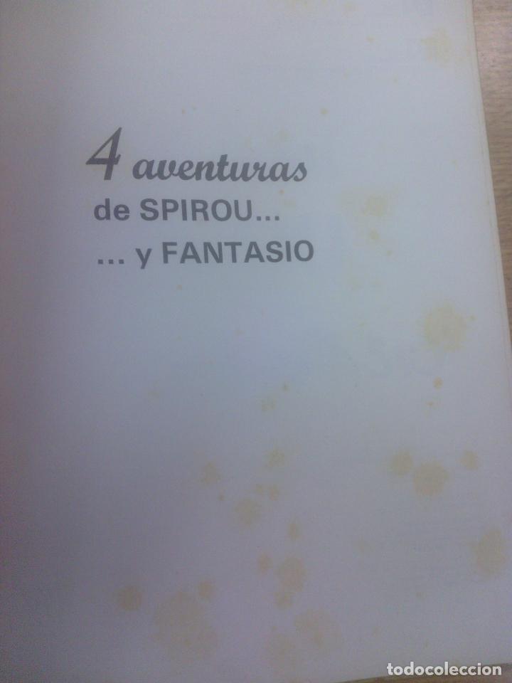 Cómics: 4 AVENTURAS DE SPIROU Y FANTASIO SERIE COLECCIONISTA #1 (EDITORA MUNDIS) - Foto 2 - 83498200
