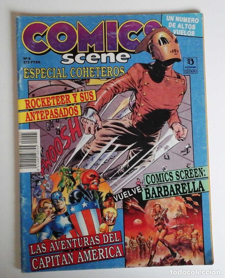 COMICS SCENE Nº 5, CON GEORGE PEREZ, BYRNE, DAVE MCKEAN Y MUCHO MÁS (Tebeos y Comics Pendientes de Clasificar)