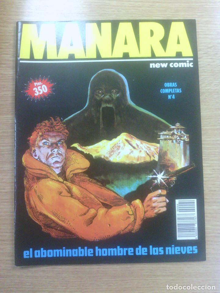 MANARA OBRAS COMPLETAS #4 (Tebeos y Comics - Comics otras Editoriales Actuales)
