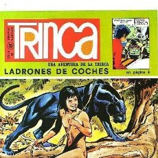 Cómics: TRINCA Nº 2 : ANTONIO HERNANDEZ PALACIOS, CALATAYUD , ETC . CON CROMOS CONQUISTA DEL CIELO.. Lote 83933192