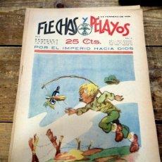Cómics: FLECHAS Y PELAYOS Nº 9. Lote 84014724