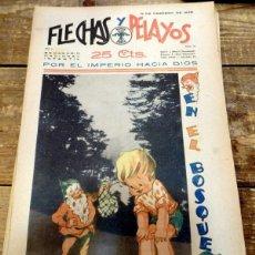 Cómics: FLECHAS Y PELAYOS Nº 10. Lote 84015232