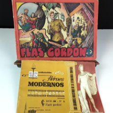 Cómics: FLASH GORDON. 2 EJEMPLARES(VER DESCRIPCIÓN). VV. AA. VARIAS EDITORIALES. 1958.. Lote 84029652