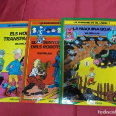 Cómics: LES AVENTURES DE GIL I JORDI. COL.LECCIÓ COMPLETA. 3 TOMOS. EDITORIAL BARCANOVA. EN CATALÁ.. Lote 84042820