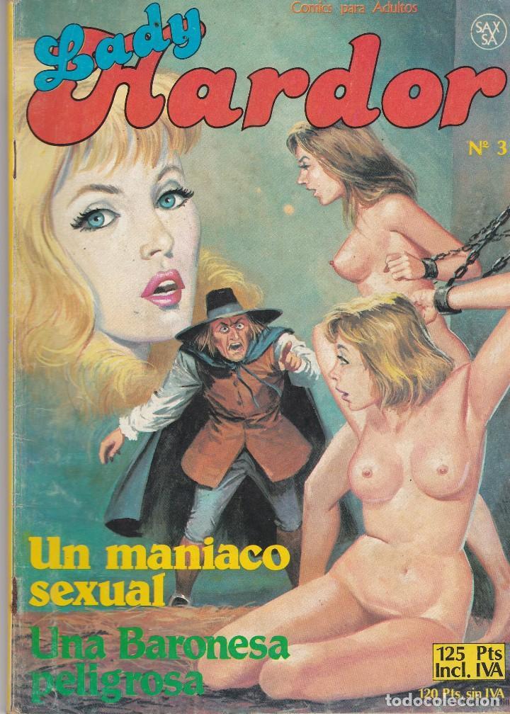 LADY HARDOR Nº 3 SAXSA 1986 64 PÁGINAS CÓMICS ADULTOS (EN ESTADO NORMAL) (Tebeos y Comics Pendientes de Clasificar)