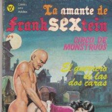 Cómics: LA AMANTE DE FRANKSEXTEIN Nº 9 SAXSA 1986 64 PÁGINAS CÓMICS ADULTOS (EN ESTADO NORMAL). Lote 84111488