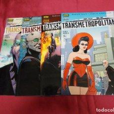 Cómics: TRANSMETROPOLITAN. REGRESO A LOS ORIGENES. COMPLETA. 4 TOMITOS. NORMA.. Lote 84179984