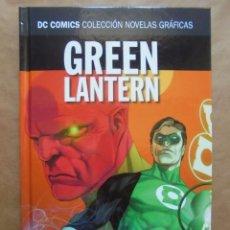 Green Lantern - Origen secreto - DC Novelas Gráficas Salvat ECC - JMV