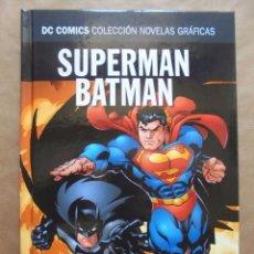 Superman Batman - Enemigos públicos - DC Novelas Gráficas Salvat ECC - JMV