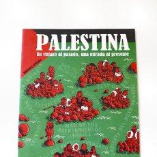 Cómics: COMIC PALESTINA - BERNARDO VERGARA - UN VISTAZO AL PASADO, UNA MIRADA AL PRESENTE - 20 PÁGINAS. Lote 86206436