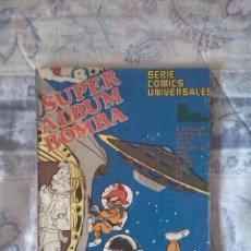 Cómics: SUPER ÁLBUM BOMBA Nº 11 - QUENA Y EL SACRAMUS - LOS PITUFOS - ETC. Lote 84291520