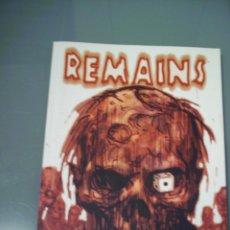 Cómics: REMAINS. RECERCA.. Lote 84752200