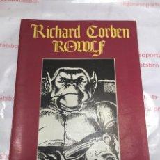 Cómics: ROWLF-RICHARD CORBEN-PRODUCCIONES EDITORIALES 1976-ESPECIAL STAR BOOKS-JMV. Lote 85019594