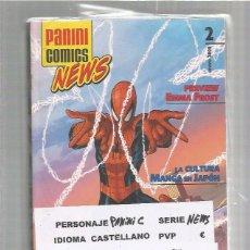 Cómics: PANINI COMICS NEWS LOTE. Lote 85029904