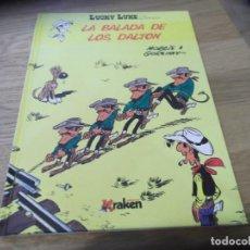 Cómics: LUCKY LUKE. LA BALADA DE LOS DALTON. KRAKEN. MORRIS. 2013. COMO NUEVO.. Lote 85052888