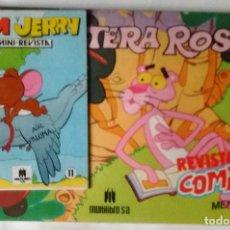 Cómics: LA PANTERA ROSA MULTILIBRO 1985 APAISADO B/N CON MINI REVISTA TOM Y JERRY NUEVO. Lote 85080052