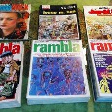 Cómics: LOTE DE COMICS RAMBLA 34 EJEMPLARES. Lote 85250900