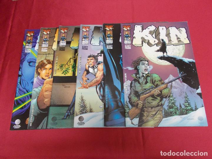 KIN. TOP COW. GRAY FRANK. COLECCIÓN COMPLETA. DEL Nº 1 AL 6 . PLANETA. (Tebeos y Comics - Comics Pequeños Lotes de Conjunto)