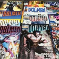 Cómics: DOLMEN - LOTE DE 41 EJEMPLARES, ESTUDIO DEL MUNDO DE LA VIÑETA. Lote 27797983