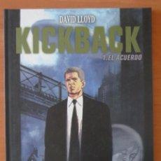 Cómics: KICKBACK 1 2 COMPLETA PLANETA. Lote 85858204