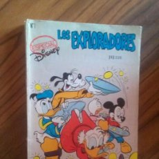 Cómics: LOS EXPLORADORES 1. ESPECIAL WALT DISNEY. MONTENA. RÚSTICA. BUEN ESTADO. . Lote 85905144