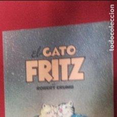 Cómics: EL GATO FRITZ - ROBERT CRUMB - COLECCION TUMI 4 - RUSTICA. Lote 85958292