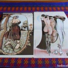 Cómics: TUMI NºS 1 Y 2 COMPLETA PUBLICACIÓN MENSUAL DEL CÓMIC ERÓTICO CON PÓSTER DE CREPAX. 125 PTS. 1981.. Lote 86009156