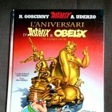 Cómics: ASTERIX -L'ANIVERSARI D'ASTERIX &OBELIX EL LLIBRE D'OR. Lote 86105492