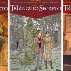 Cómics: EL TRIÁNGULO SECRETO (PACK 3 TOMOS Nº 1, 2 Y 3) GLENAT. Lote 86131884