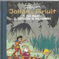 JOHAN Y PIRLUIT INTEGRAL 5 - PEYO - DOLMEN - COMO NUEVO