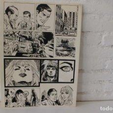 Cómics: ILUSTRACION ORIGINAL, MAQUETA PARA COMIC SUPERHEROE DE FRANCISCO CUETO, 1971. Lote 86594884