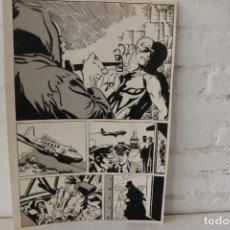Cómics: ILUSTRACION ORIGINAL, MAQUETA PARA COMIC SUPERHEROE DE FRANCISCO CUETO, 1971. Lote 86594972