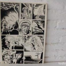 Cómics: ILUSTRACION ORIGINAL, MAQUETA PARA COMIC SUPERHEROE DE FRANCISCO CUETO, 1971. Lote 86595020