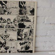 Cómics: ILUSTRACION ORIGINAL, MAQUETA PARA COMIC SUPERHEROE DE FRANCISCO CUETO, 1971. Lote 86595036