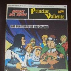 Cómics: HEROES DEL COMIC. PRINCIPE VALIENTE. Nº 89. LAS AVENTURAS DE SIR GAWAIN. BURU LAN. 1973. Lote 86598548