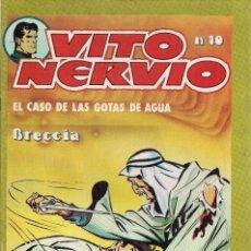 Cómics: ALBERTO BRECCIA : VITO NERVIO Nº 10. EL CASO DE LAS GOTAS DE AGUA. (ED. VILAN, 1981). Lote 86668580