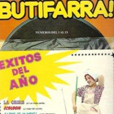 Cómics: BUTIFARRA!. NUMEROS DEL 1 AL 13. REVISTA MENSUAL. AÑO 1978. COMPLETO.. Lote 99093747