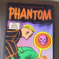 Cómics: TEBEO. LEE FALK & WILSON MCCOY. PHANTOM, EL HOMBRE ENMASCARADO. TIRAS DIARIAS 1957 / 58. Lote 86820216