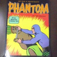 Cómics: TEBEO. LEE FALK & WILSON MCCOY. PHANTOM, EL HOMBRE ENMASCARADO. TIRAS DIARIAS 1954 / 55. Lote 86822624