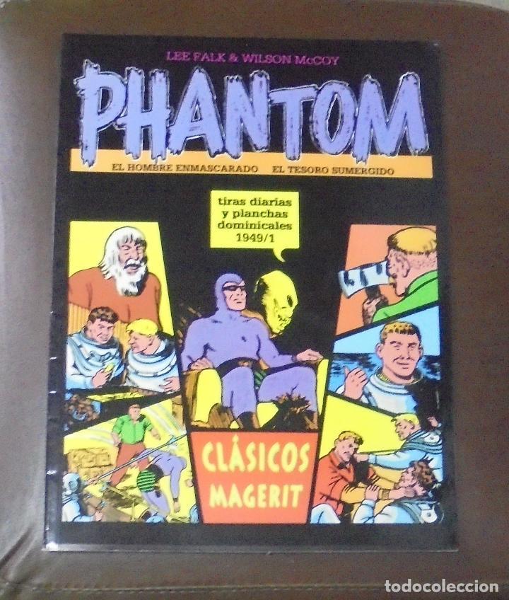 TEBEO. LEE FALK & WILSON MCCOY. PHANTOM, EL HOMBRE ENMASCARADO. TIRAS DIARIAS 1949 / 1 (Tebeos y Comics - Comics otras Editoriales Actuales)